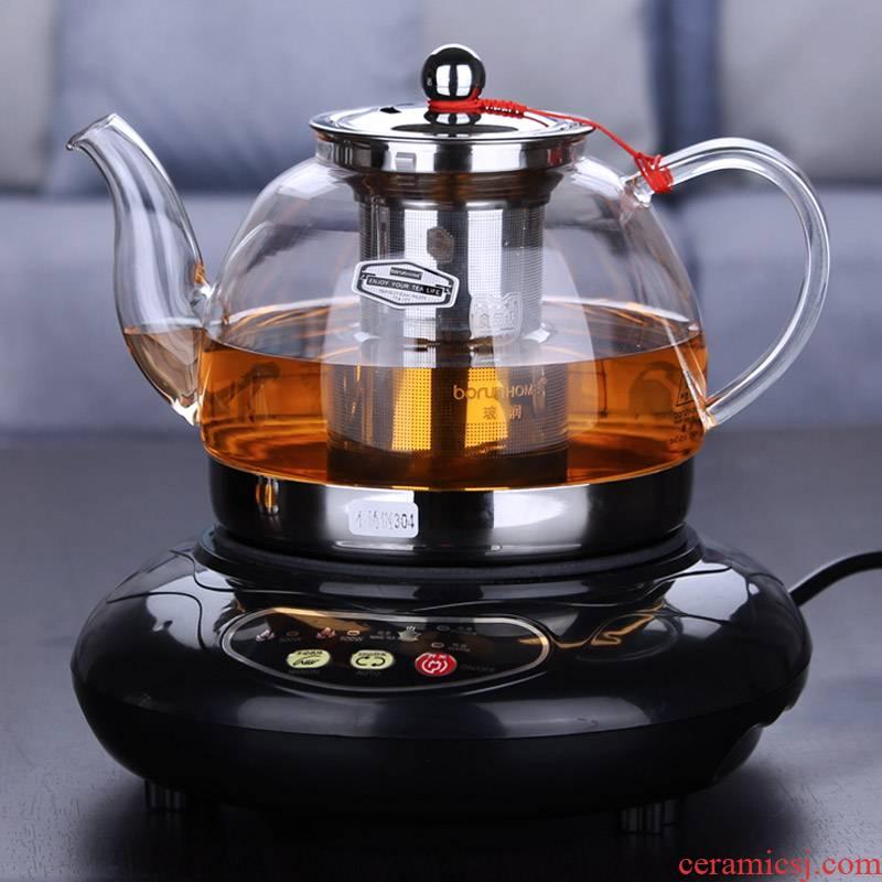 Electromagnetic TaoLu special multi - function burn boil tea boiled tea kettle high temperature resistant glass teapot tea set