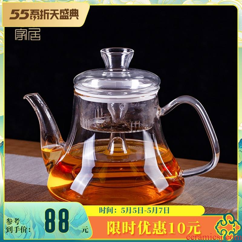 Blower, thickening large - capacity glass cooking pot tea suit single pot kettle electric TaoLu high - temperature household