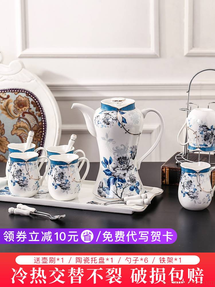 E best ceramic suit contracted cheongsam restoring ancient ways of water with cold tea kettle wedding suit glass