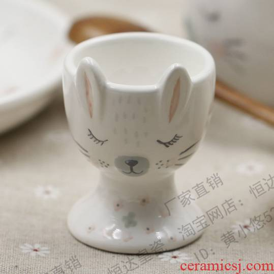 3 d express its bunny ceramic breakfast doesn 2 egg egg cup generation packaging write CARDS