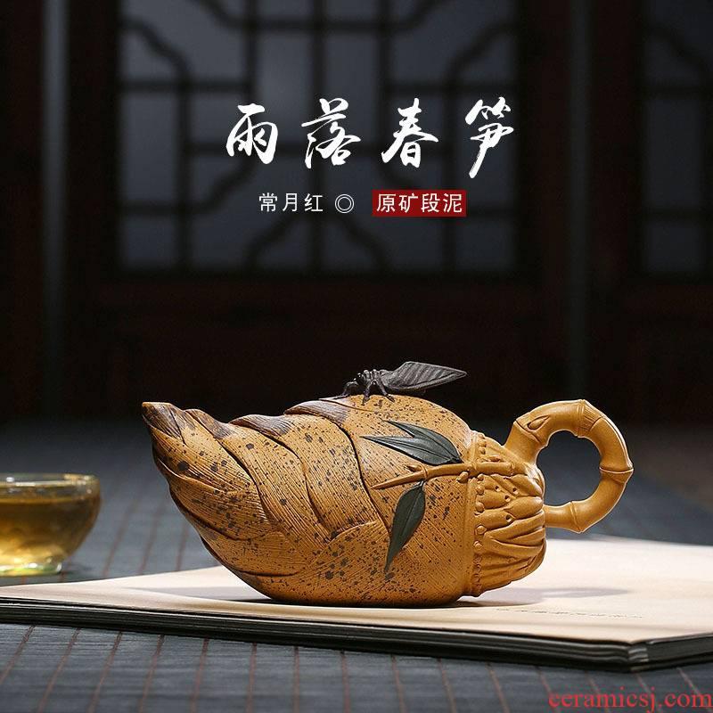 Yixing it zisha teapot tea purple clay pot single pot ceramic tea pot of tea pot teapot manually