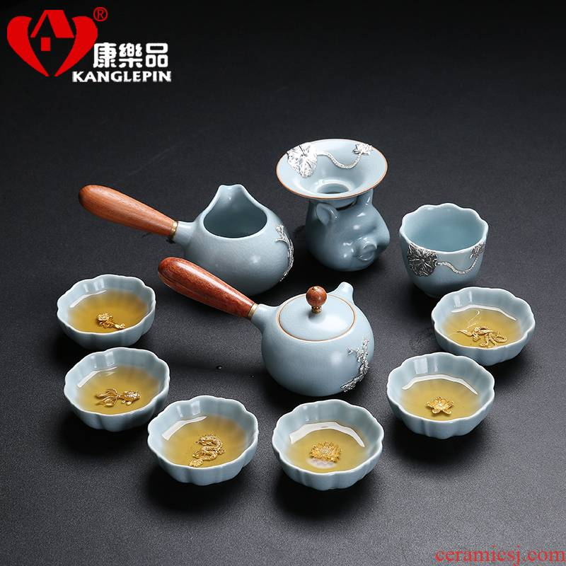 Recreation is tasted your up of a complete set of tea sets with silver whitebait cups sliced open your porcelain kung fu side cup pot office