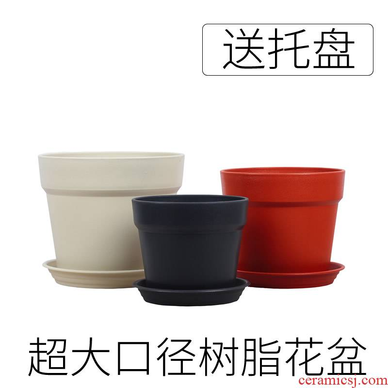 Clay POTS resin oversized other plastic flower POTS resistant ceramic, fleshy balcony continental basin of potted plant fruit trees