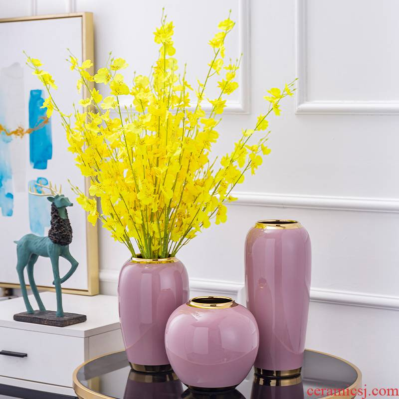 New Chinese style ceramic vase I sitting room porch place American TV ark, the table dry flower decoration decoration
