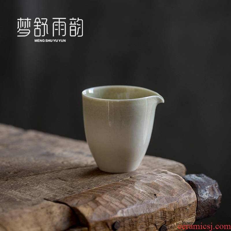 Dream ShuYu rhyme kung fu tea tea cups justice cup ceramic Japanese parts points of tea, a single large