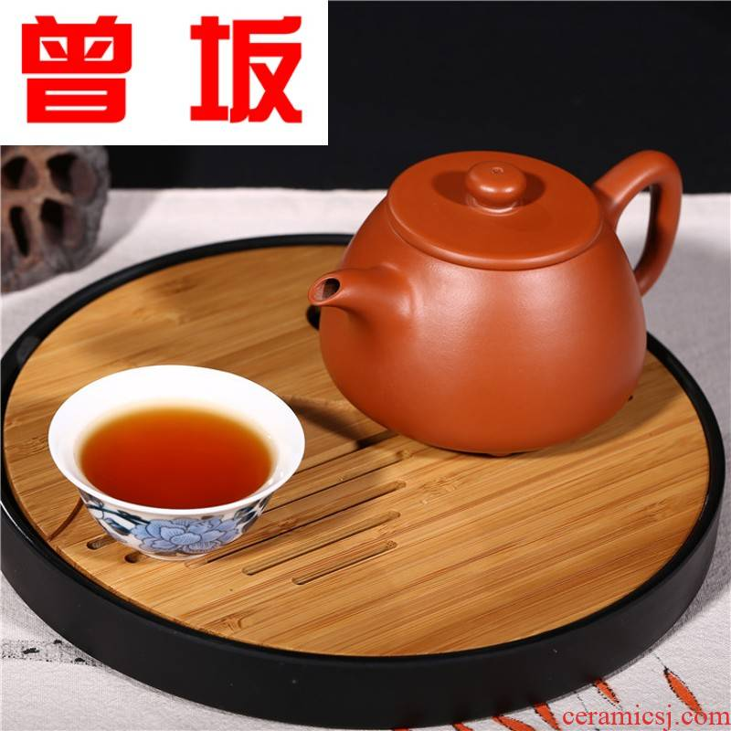Once sitting kaolinite ladle yixing undressed ore zhu manual violet arenaceous mud stone gourd ladle are it the teapot tea direct shot