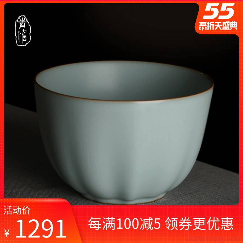Wash your up water jar ceramic kongfu tea household jingdezhen checking porcelain tea accessories for Wash cup bowl