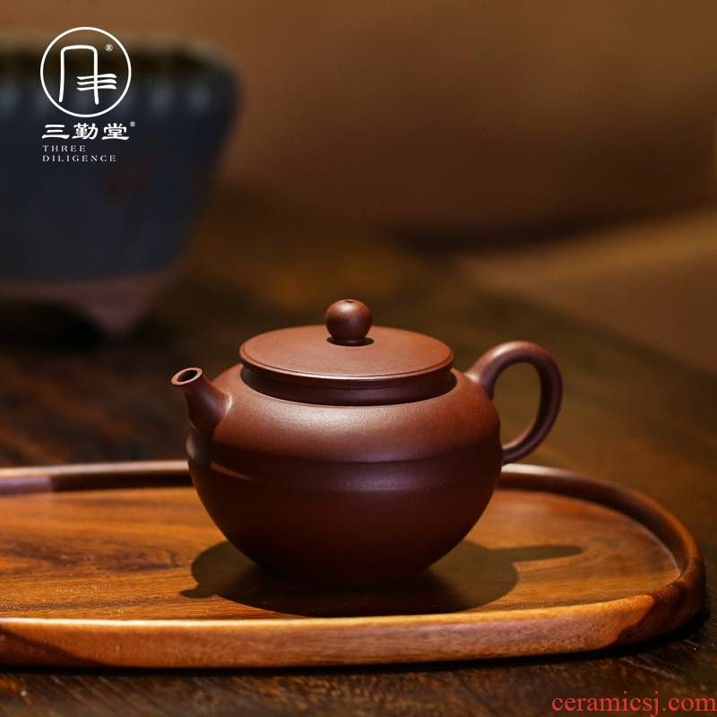 Yixing purple xi shi pot famous three frequently hall all hand kung fu tea set undressed ore little teapot girum dagnaw dubale are it