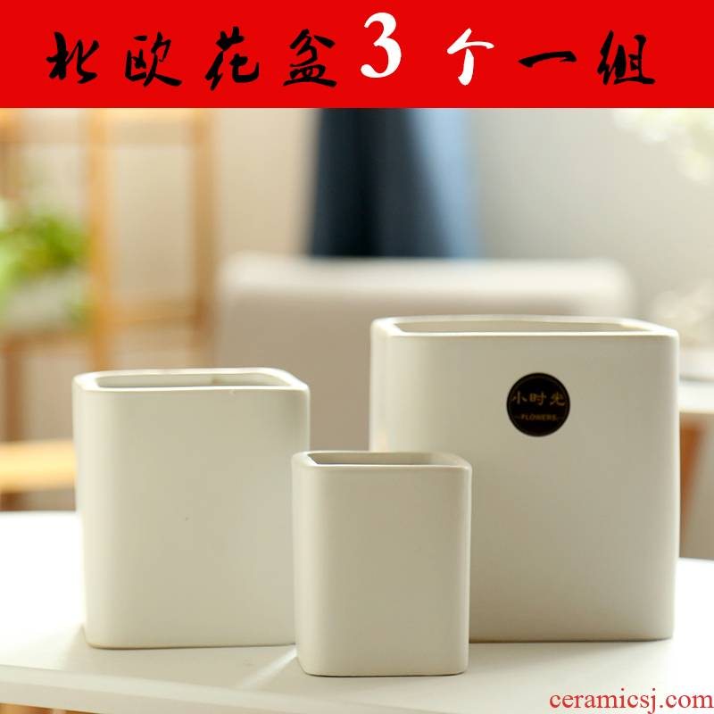 Large special offer a clearance of meat matte enrolled in flowerpot ceramics package mail household air more than other meat wholesale flower pot