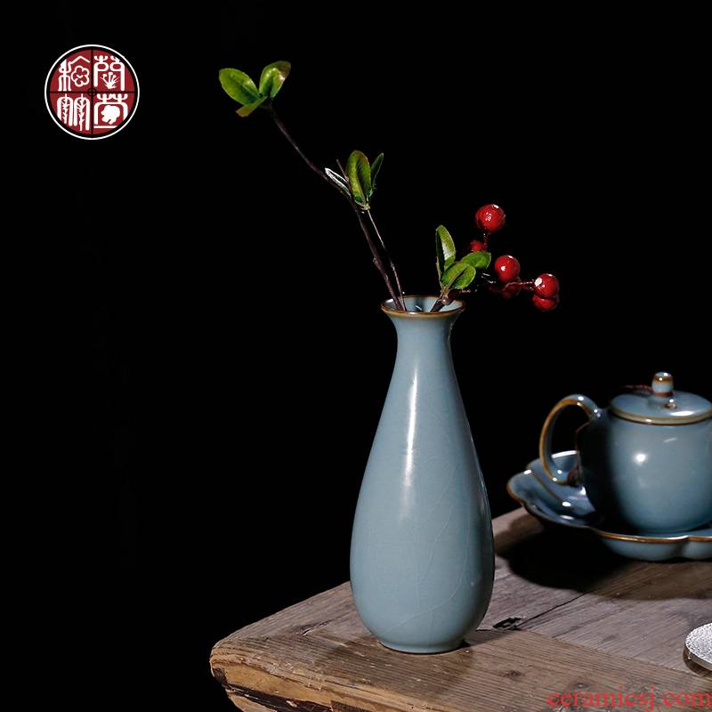 By patterns can carry water flower arranging your up floret bottle ceramic tea tea art furnishing articles decorated restaurant tea table