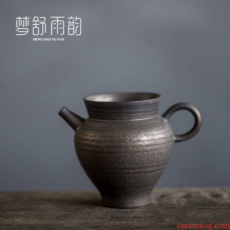 Dream ShuYu rhyme thin foetus kung fu tea tea cups justice cup ceramic Japanese parts points of tea, a single