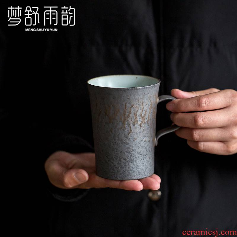 Dream ShuYu rhyme coarse ceramic mugs without cover household ceramic tea cup move office tea cup
