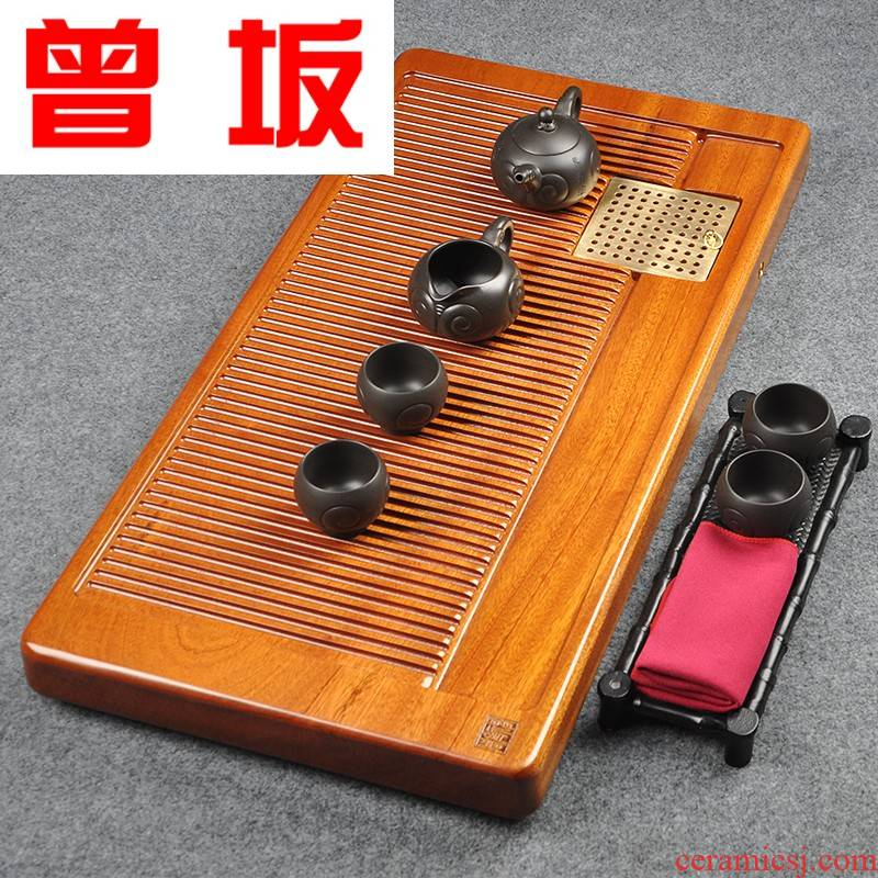 The Who -- a large sand Billy redwood logs sandal wood tea tray was ground kung fu tea set