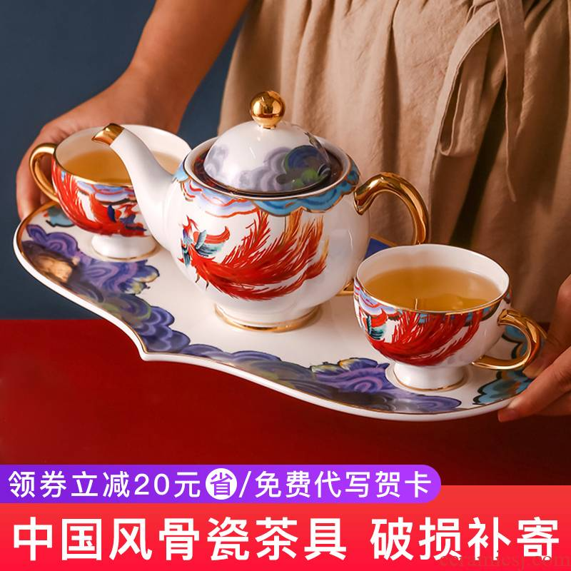 Ipads China tea sets tea Chinese ceramic tea cozy home with tray was coffee set