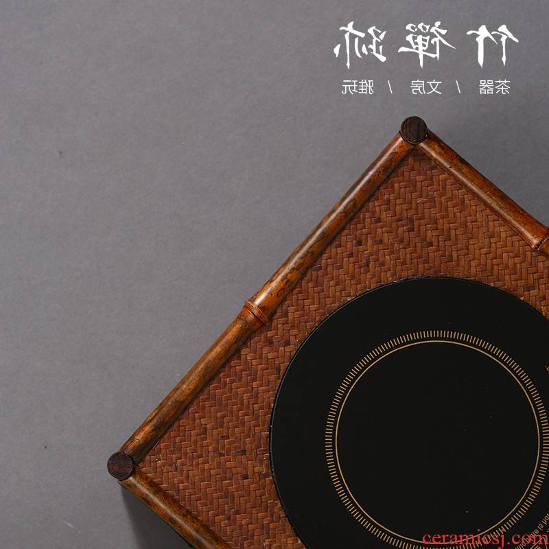 Garden of Hong Kong of the next power purchase TaoLu the bamboo tea stove.mute boiled tea stove iron silver pot clay POTS glass tea boiled water
