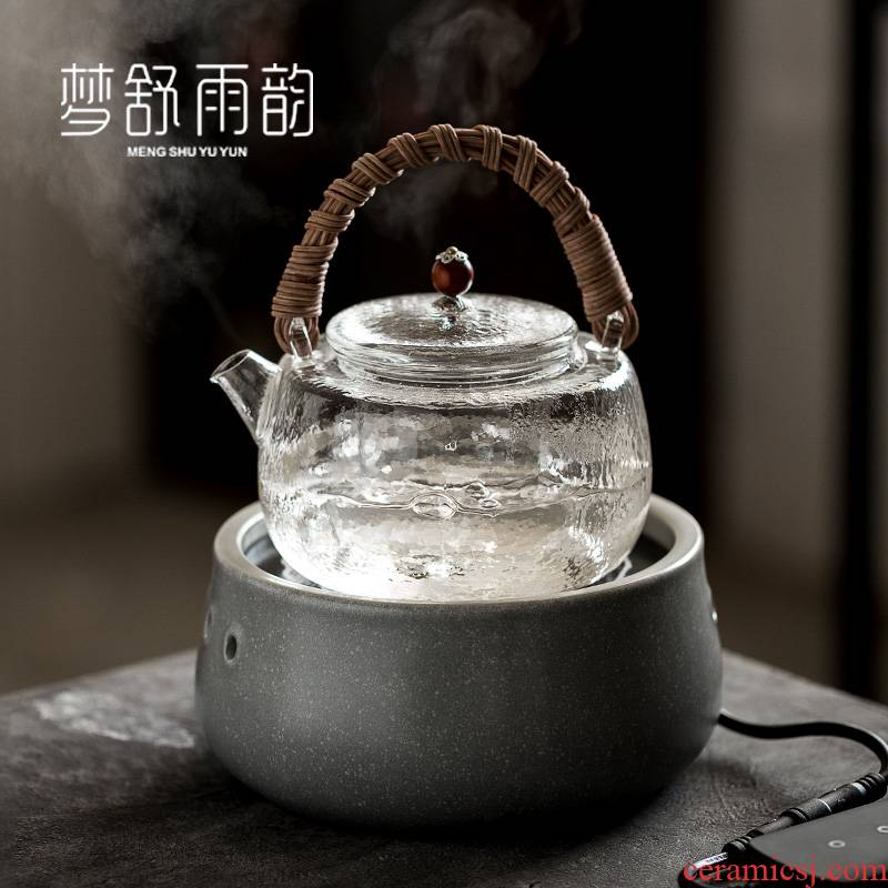 Dream ShuYu rhyme electric TaoLu household boiling tea machine automatic web celebrity.mute special high temperature resistant glass pot the teapot