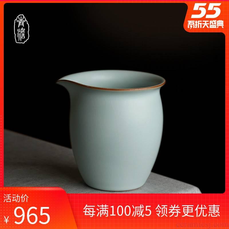Hand your up tea tea set ceramic fair keller points of tea and a cup of a single jingdezhen antique porcelain piece can keep open