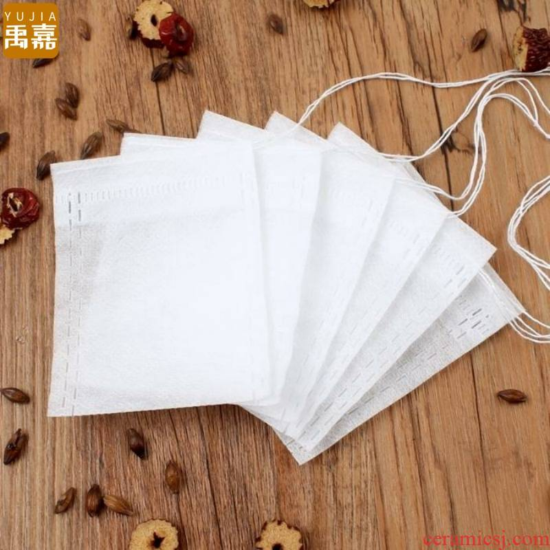 YuJia soup slag insulation filter bag tea bags size tisanes Chinese medicine bag gauze tea bag plastic bag foot bath