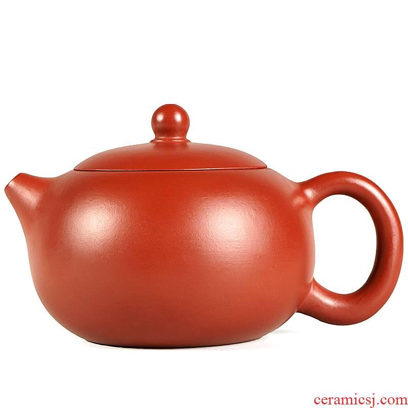 Yixing it pure checking make tea with ore dahongpao profiteering xi shi pot of suits for