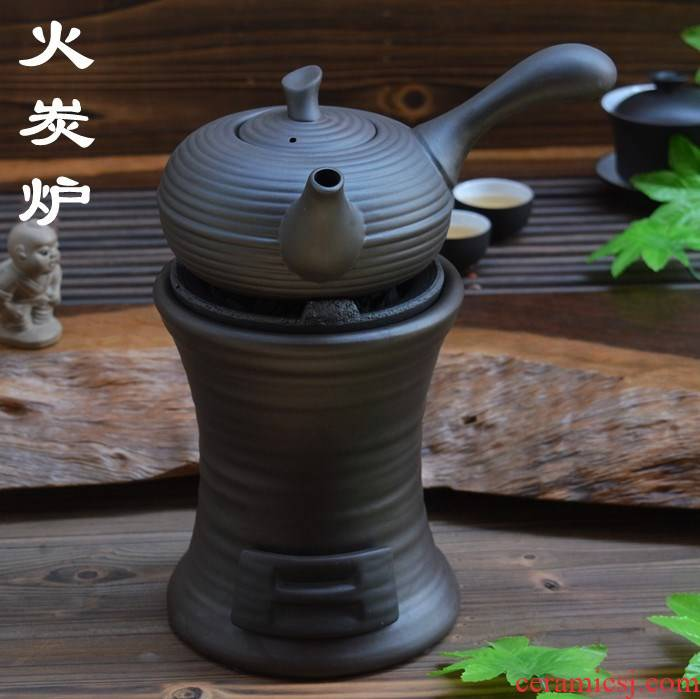 Small fire garden garden of the next following red mud charcoal stove household old interior ceramic boiled tea charcoal stove fire wind furnace red mud