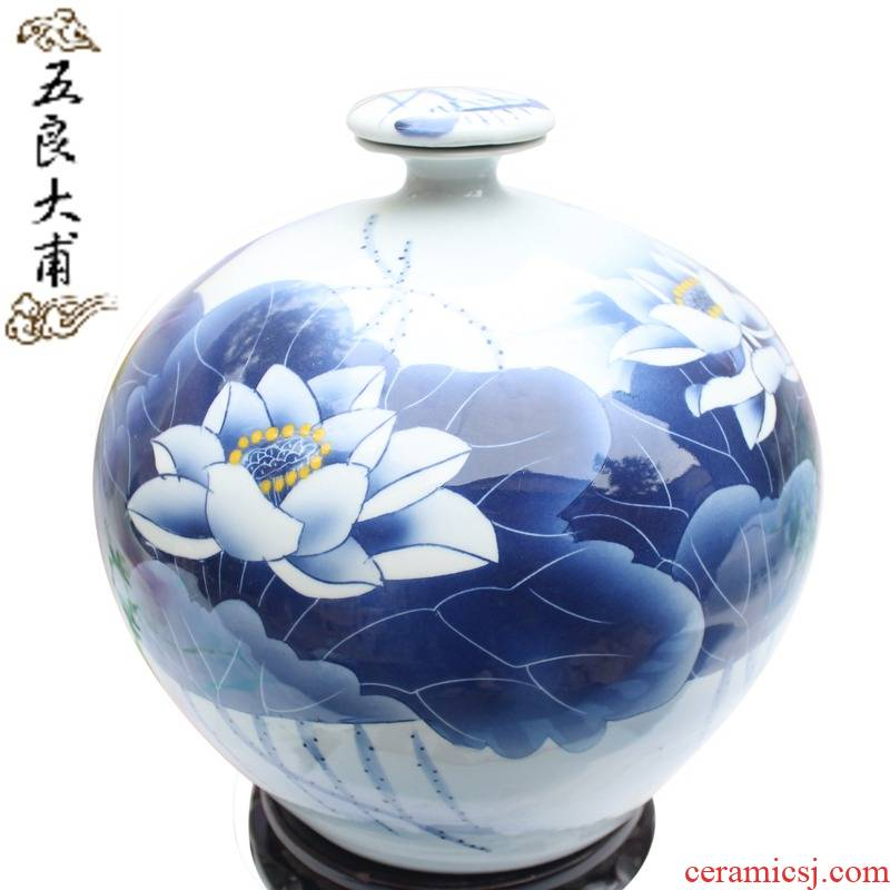 Five good just 15 kg terms bottle hand - made ceramic art collection bottle ceramic decorative vase