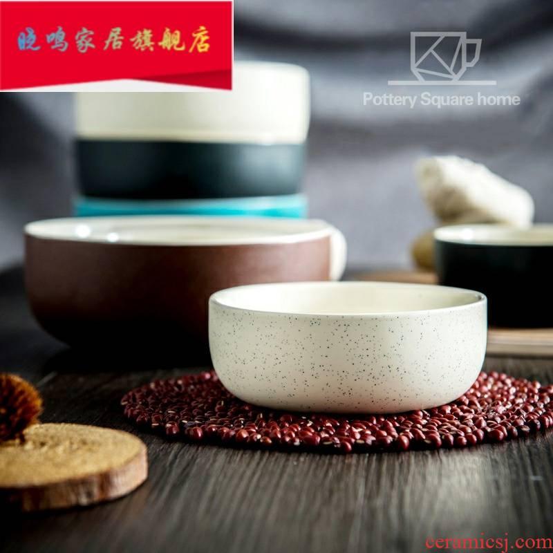 "Creative ceramic 4 ""6"", 8 inch bowl dish bowl of move and the bowl bowl dessert salad bowl bowl of soup bowl 1"
