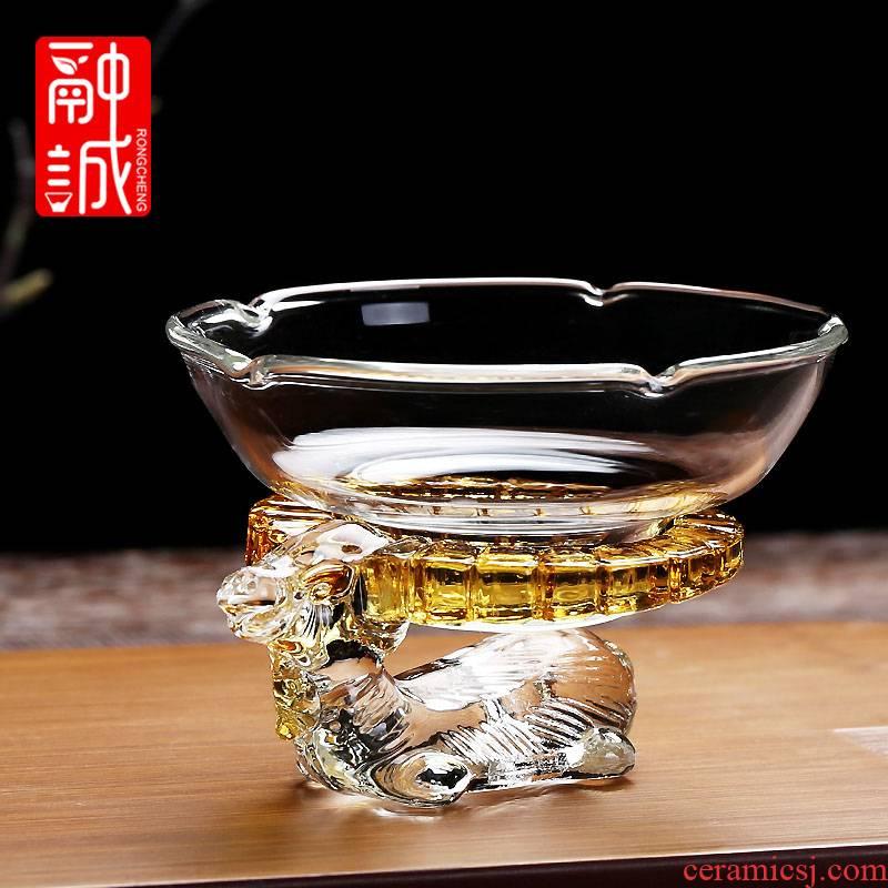 Glass) filter suit kung fu tea tea accessories creative tea filters make tea, tea every good stand