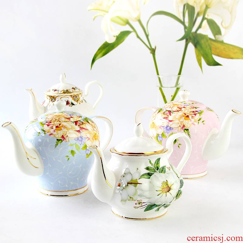 European goods to transport 】 【 tea tea pot of coffee pot of coffee cup form a complete set of English afternoon tea tea set the teapot