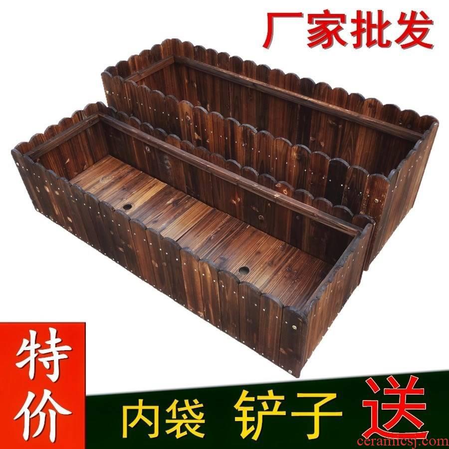 Do old planting vegetables basin box flowerpot holder wood planter home base flower box wooden palisade fence organic web celebrity