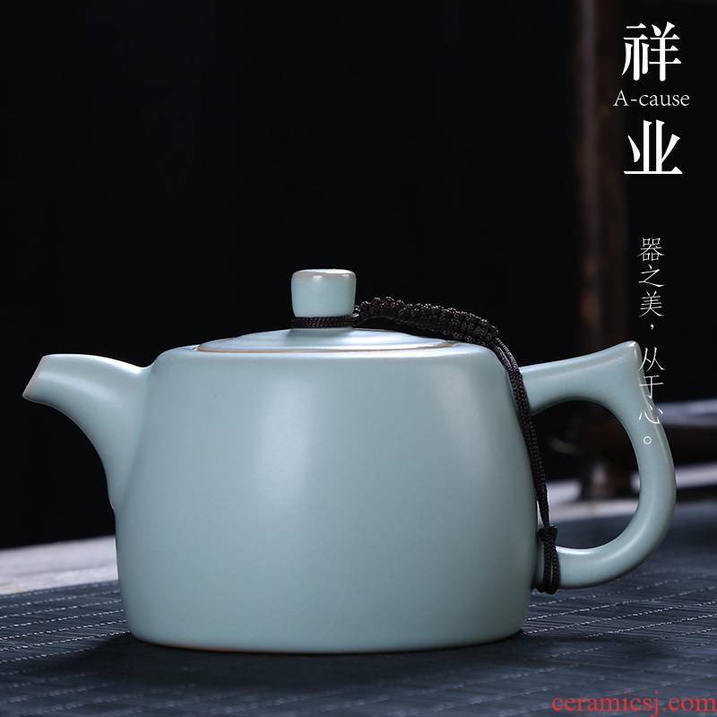 Your up manually start the teapot auspicious industry ceramic kung fu tea set for its ehrs single pot office receive a visitor household teapot