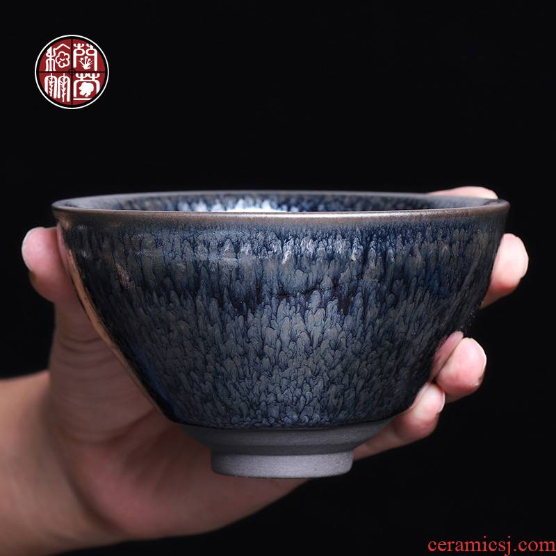 12 caliber point of the song dynasty built lamp cup bowl large bowl is super masters cup single tire iron single CPU fullness