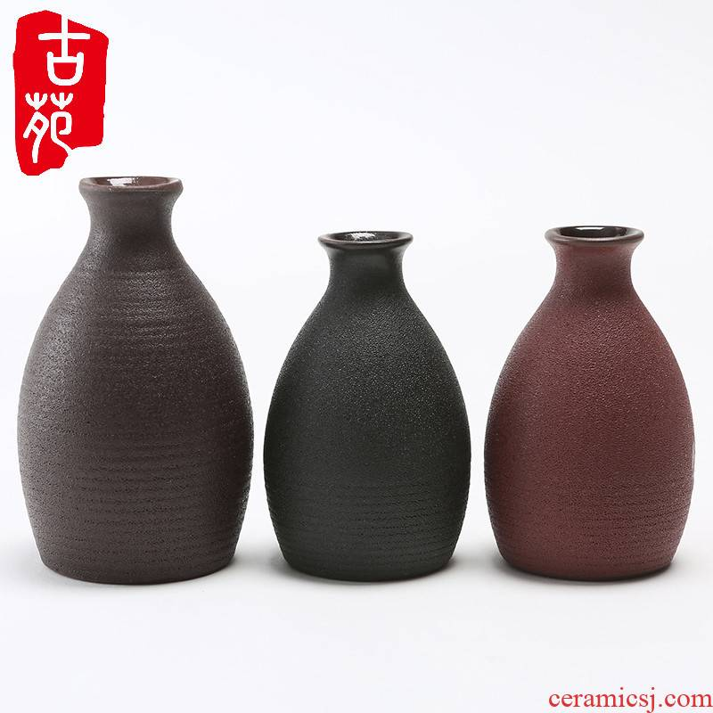 The 2232 half jins to ceramic bottle earthenware jar flask decoration ideas archaize with wine