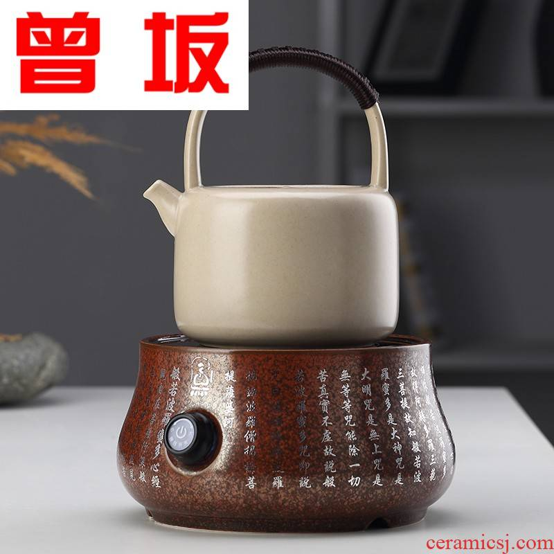 The Who -- tea ceramics household kung fu tea pot boil water jug girder are white tea pu - erh tea boiled tea, the large capacity
