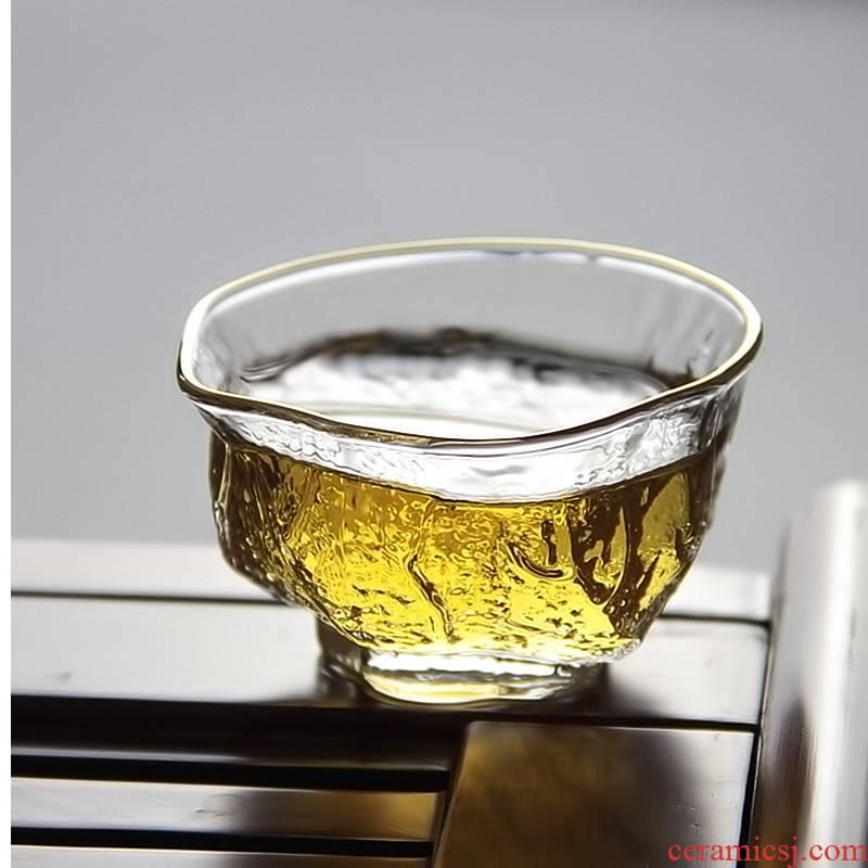 Royal more pure glass fair keller heat) integration points tea tea tea filter suit kung fu tea set to Japanese