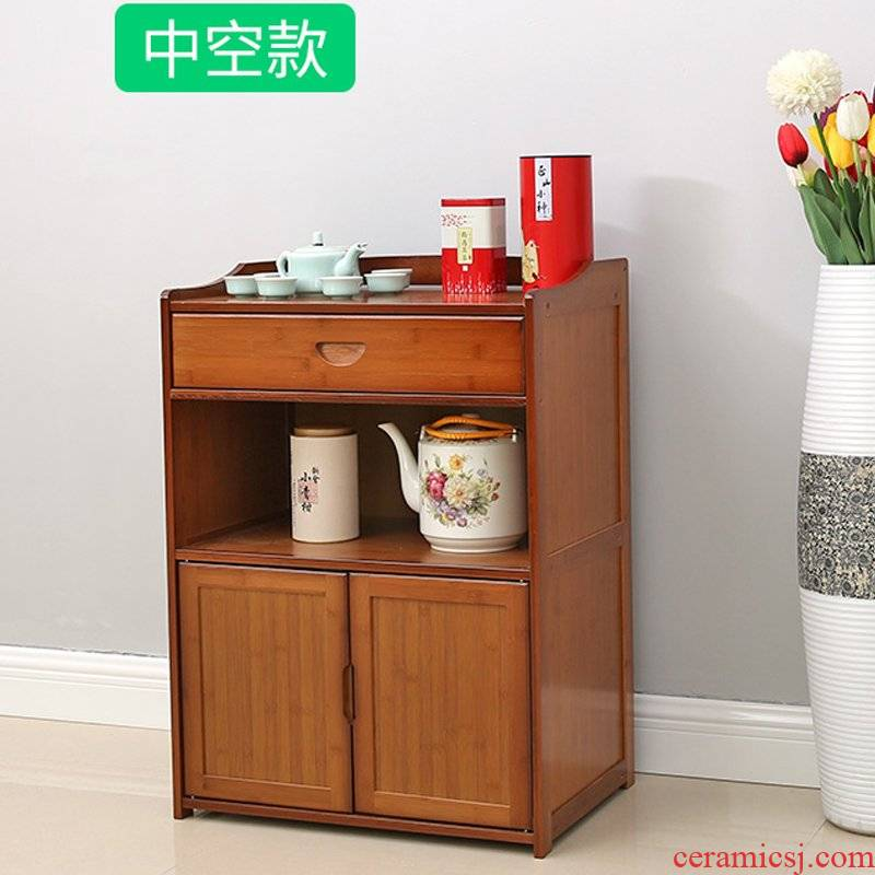 Eat edge ark, tea tank sitting room kitchen drawer to receive ark, store content ark is simple and easy ark cabinet shelf put tea