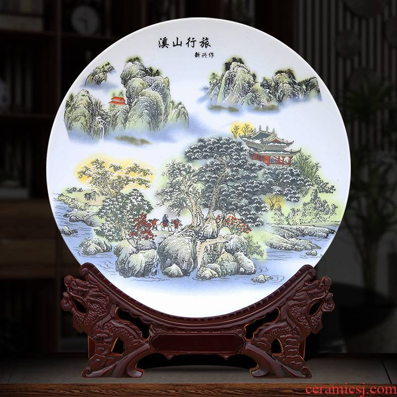 Khe sanh travelled decorative plate to industry