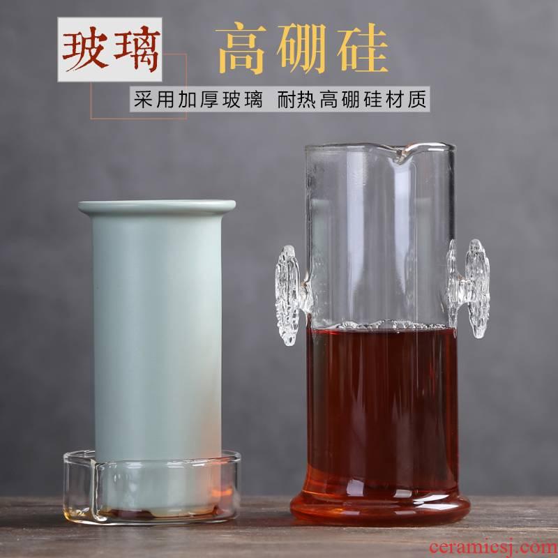 Auspicious industry teapot household black tea pu 'er tea tea tea ware your up filter heat - resistant glass blunt tea