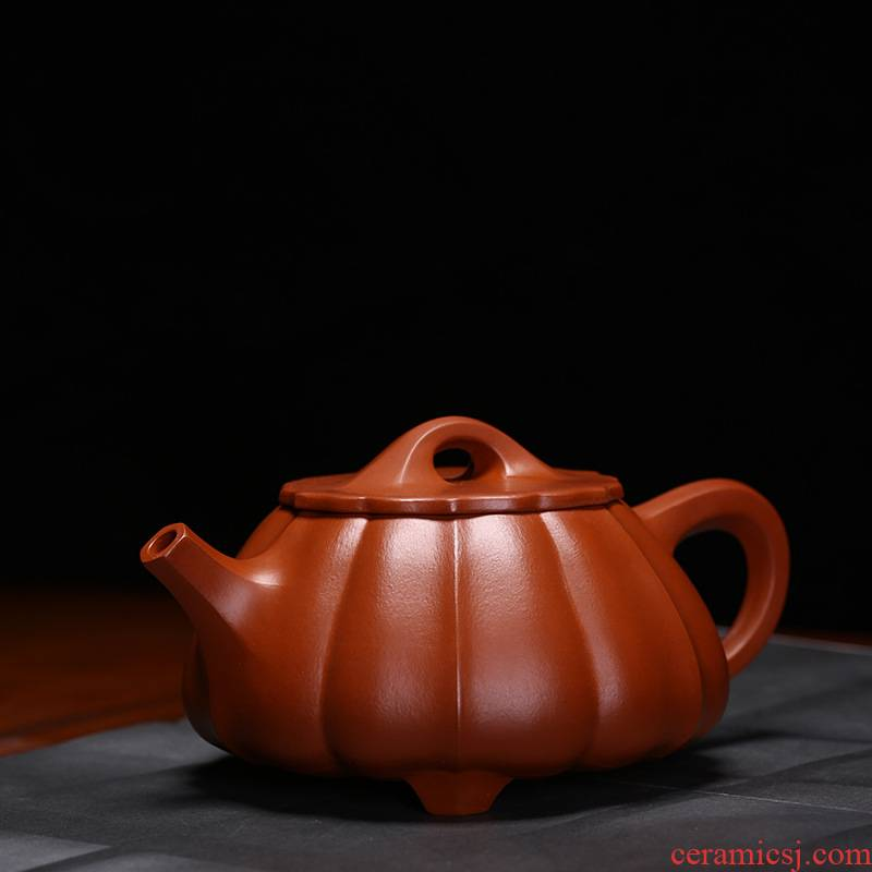 The teapot yixing masters are it stone gourd ladle of pure manual undressed ore kung fu tea sets tea cup teapot