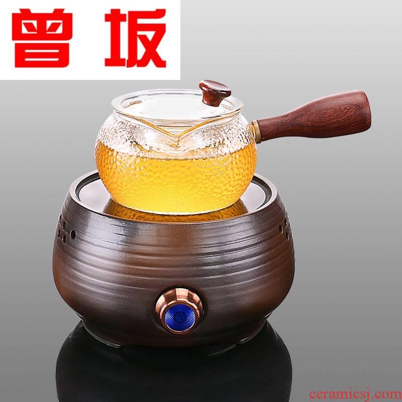 The Who -- black tea kettle, the tea, the electric TaoLu suits for home cooked this glass teapot tea, white tea tea