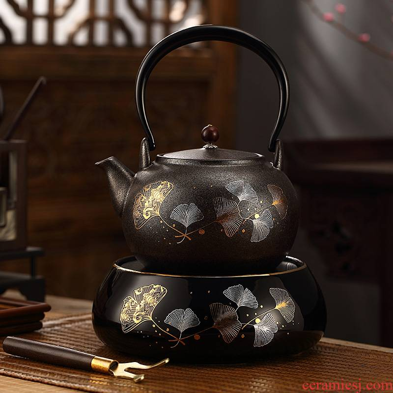 Morning ceramic kettle ceramic POTS.mute household kung fu tea set the boiled tea, the electric TaoLu tea stove to boil tea set