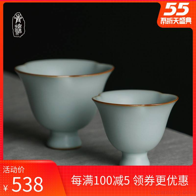Jingdezhen masters cup checking ceramic cups restoring ancient ways kunfu tea bowl your up sample tea cup Chinese piece can keep open
