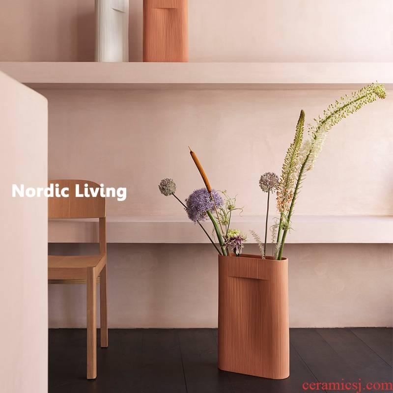 The Spot Denmark MUUTO Ridge clay its vase vase landed desktop furnishing articles flowers, northern line
