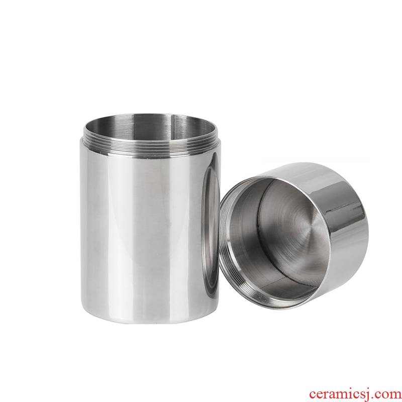L304 stainless steel seal pot small caddy fixings thickening metal mini portable portable wake receives swab box