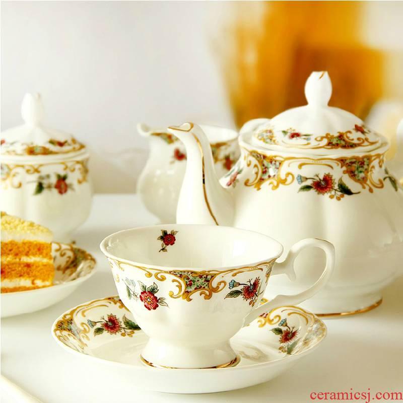 Ou tea set tea, tea sets coffee ipads porcelain coffee cup red ceramic cups key-2 luxury home