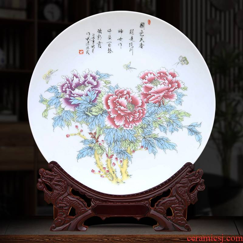 Very beautiful decorative plate to industry