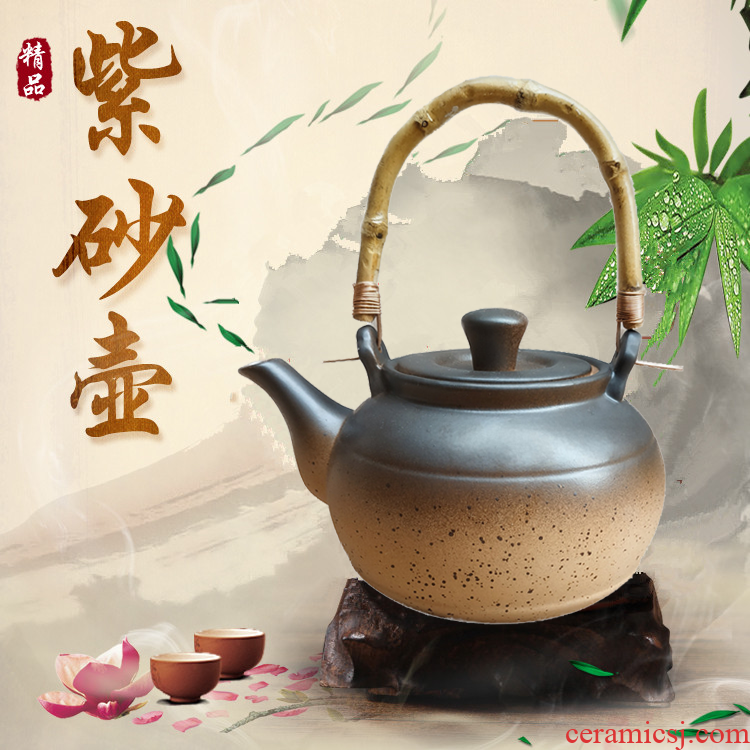 Household are it high temperature ceramic heat the blowout sand pot of black tea have the kettle boil water to make tea kungfu tea set