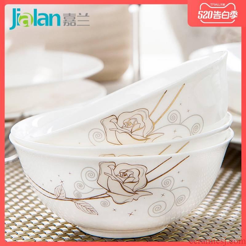 Garland ipads China 4 inches dip oil hot - pot restaurant dishes taste of vinegar sauce bowl dessert bowl dish small ceramic soup bowl