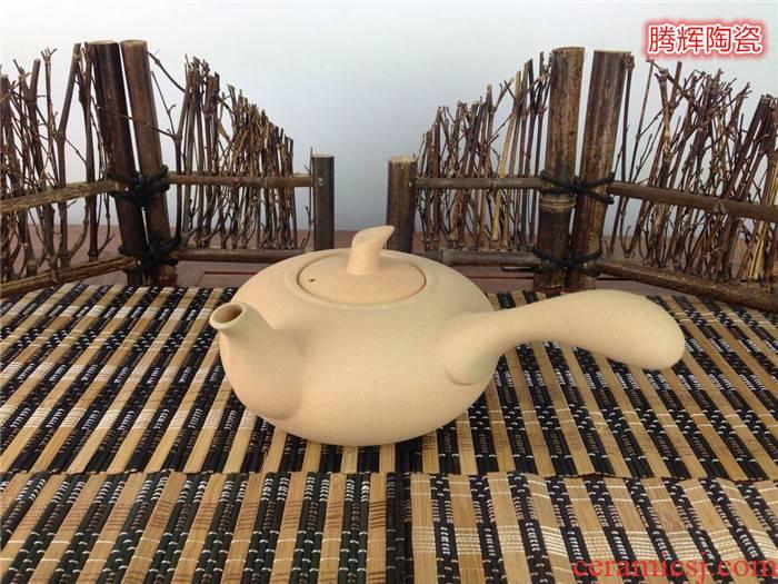 The Health ceramic tea pot - kung fu tea boiled tea ware kettle ceramic tea pot clay POTS straight fire zhu clay pot
