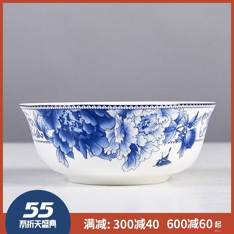 6 inches big rainbow such as bowl mercifully rainbow such as bowl jingdezhen ceramic tableware set bowl of jingdezhen porcelain bowls household glair