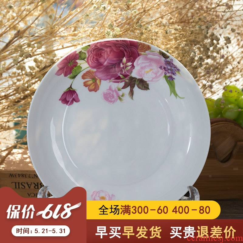 Child creative ipads porcelain jingdezhen ceramic tableware porcelain dish dish dish a single combination of household wedding celebrations